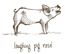 2017 Laughing Pig Rose, 750ml Product Image